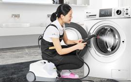 洗衣机+冰箱高温蒸汽保洁