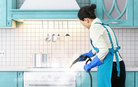 蒸清新 • 厨房蒸汽保洁